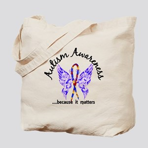 Autism Butterfly 6.1 Tote Bag