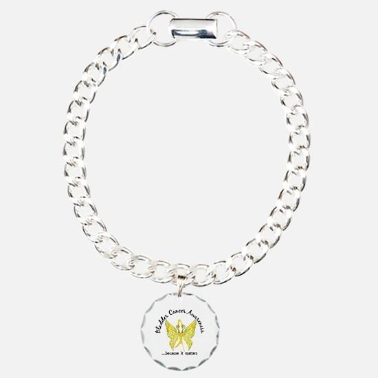 Bladder Cancer Butterfly Bracelet