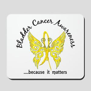 Bladder Cancer Butterfly 6.1 Mousepad