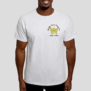 Bladder Cancer Butterfly 6.1 Light T-Shirt