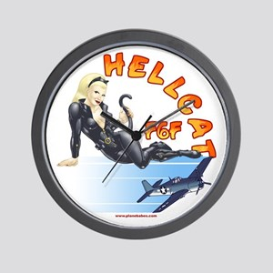 F6F HELLCAT AVIATION WALL CLOCK