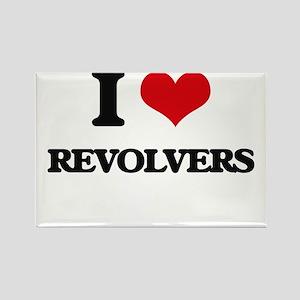 I Love Revolvers Magnets