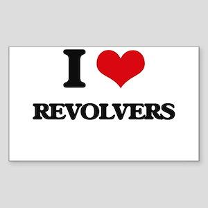 I Love Revolvers Sticker