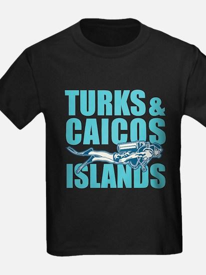 Turks and Caicos Islands - Scuba T-Shirt