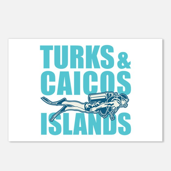 Turks and Caicos Islands Postcards (Package of 8)