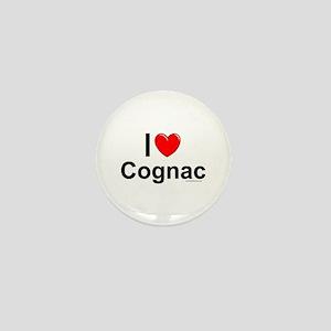 Cognac Mini Button