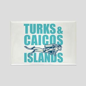 Turks and Caicos Islands - Scuba Magnets