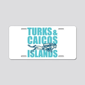 Turks and Caicos Islands - Aluminum License Plate
