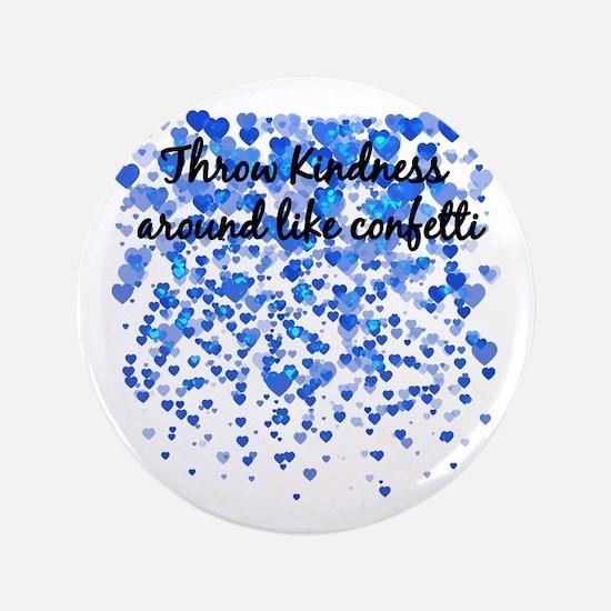 """CONFETTI 3.5"""" Button"""