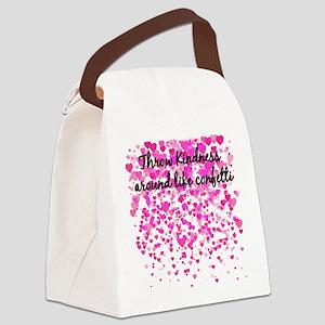 CONFETTI Canvas Lunch Bag