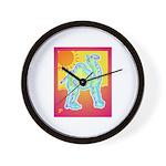 Happy Summer Camel Wall Clock
