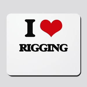 I Love Rigging Mousepad