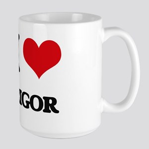 I Love Rigor Mugs