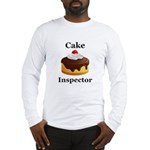 Cake Inspector Long Sleeve T-Shirt