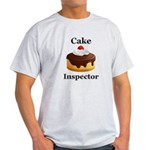 Cake Inspector Light T-Shirt