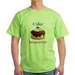 Cake Inspector Green T-Shirt
