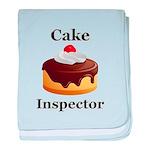 Cake Inspector baby blanket