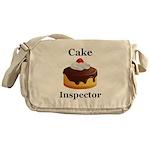 Cake Inspector Messenger Bag