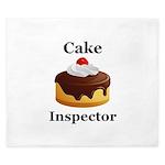 Cake Inspector King Duvet