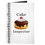 Cake Inspector Journal