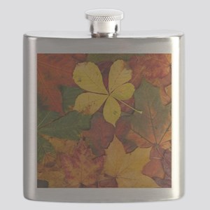 FALL LEAVES Flask