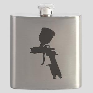 Paint Spray Gun Flask