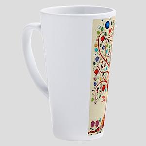 TREE OF LIFE 7 17 oz Latte Mug