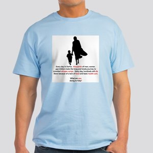 Darfur Refugees Light T-Shirt