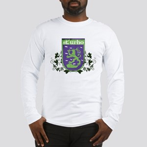 St. Urho Coat of Arms Long Sleeve T-Shirt