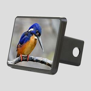 Azure Kingfisher Rectangular Hitch Cover