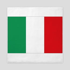 Italian flag Queen Duvet
