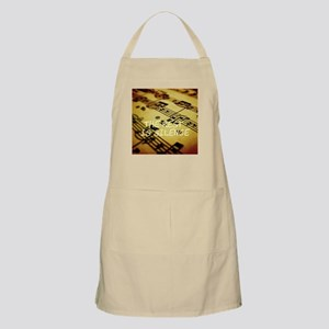 The Rest Is Silence Apron