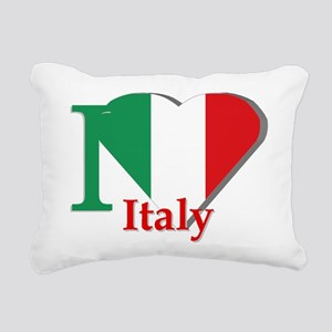 I love Italy Rectangular Canvas Pillow