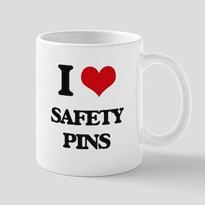 I Love Safety Pins Mugs