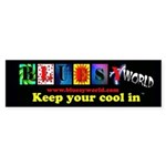Bluesyworld Bumper Sticker