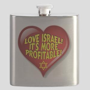 Love Israel! It's More Profitable! Flask