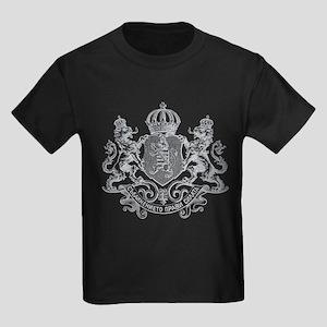 ANCIENT LION CREST Kids Dark T-Shirt