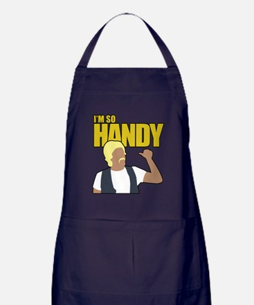 I'm So Handy - Weird Al Apron (dark)