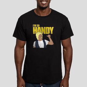 I'm So Handy - Weird A Men's Fitted T-Shirt (dark)