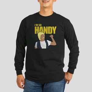I'm So Handy - Weird Al Long Sleeve Dark T-Shirt