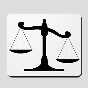 Scale Of Justice Mousepad
