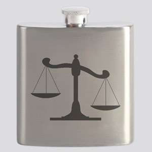 Scale Of Justice Flask