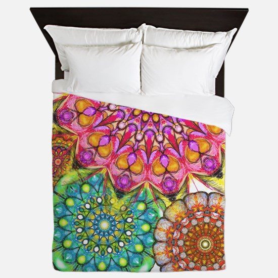 Floral Patten 2 Queen Duvet