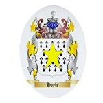 Hoyle Ornament (Oval)