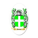 Howse Oval Car Magnet
