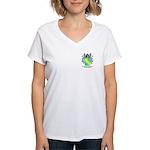 Howorth Women's V-Neck T-Shirt