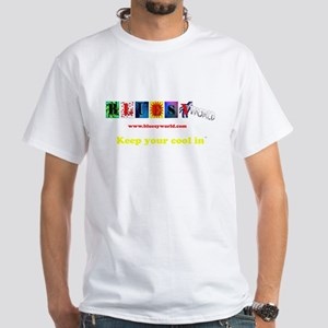 Sarah Smartypants White T-Shirt