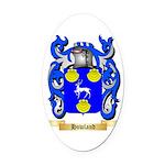 Howland Oval Car Magnet