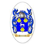 Howland Sticker (Oval 50 pk)