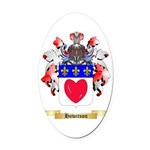 Howitson Oval Car Magnet